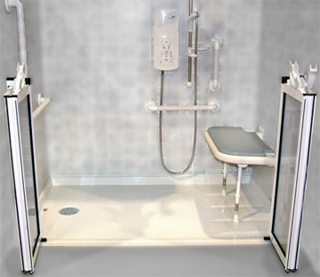 Handicap Shower in Laurel, Maryland