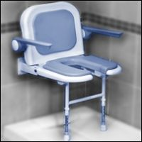 Bariatric Commode Shower Chair | Handicap Showers