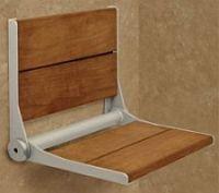 Wooden ... & Fold Up Shower Stools | Handicap Showers