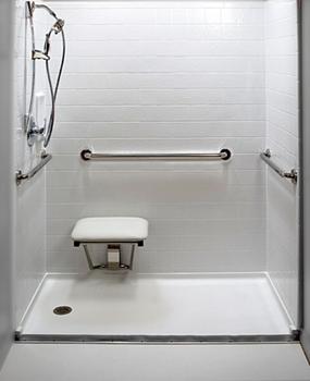 Handicap Accessible Handicap Showers